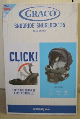 Graco 8AG39CGE Snugride Click Connect 30LX Infant Car Seat Charger Christmas Ornament