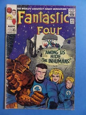 Fantastic Four 45 1965 1St Inhumans! Hot!