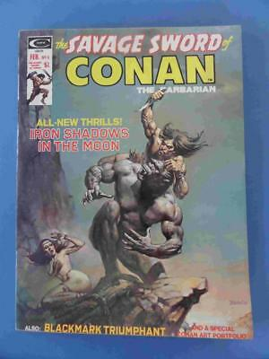 Savage Sword Of Conan 4 Squarebound Lovely Fresh Vf