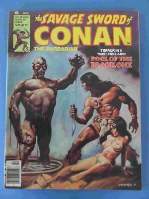 Savage Sword Of Conan 22 1977 Lovely Fresh High Grade! Vf/+