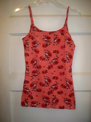 Women's Flowered Print Camisole, size small, NEW