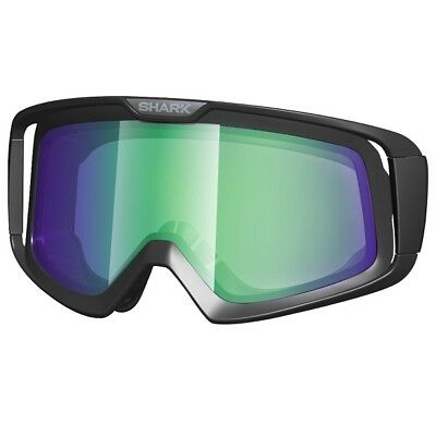 Shark Iridium Green  Replacement Lens To Fit Raw Goggles
