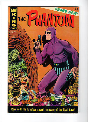 The Phantom #18 VF+ Flash Gordon Begins (Sep 1966, King Features)