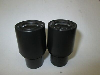 10X W.F. EYEPIECES for StereoZoom 4 Microscope -set of 2 WF/10x/18 FREE SHIPPING