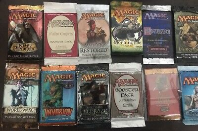 Mtg Booster Pack Grab Bag/Lot - Inc 6 X Premium Booster Packs - Antiquities, P3K
