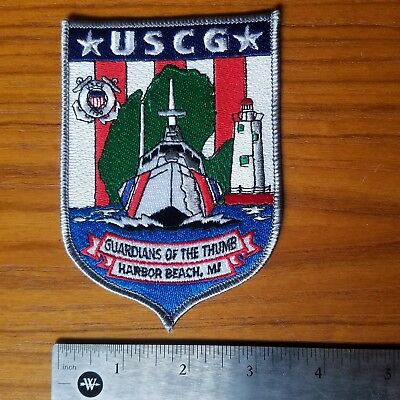 USCG Guardians Of The Thumb Harbor Beach Michigan Patch