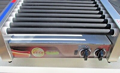 APW Wyott HRS-31S Hot Dog   Slanted Roller Grill  Nathans Famous NEW
