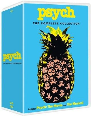 Psych: The Complete Collection [New DVD] Boxed Set