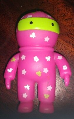 "Collectible 3"" Cox Communications Hero Digi Man Figure - Alternate Pink - 2012"
