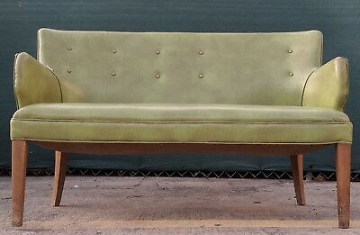 Vintage Bankers Bench ~ Library, Lawyer, Den
