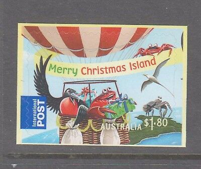 Christmas Island 2013 International Post Christmas booklet stamp