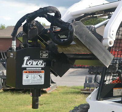 Bobcat Skid Steer Attachment Lowe 750 Classic Round Auger Drive Unit - Ship $199
