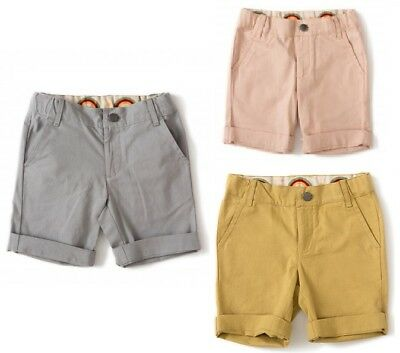 Little Green Radicals Organic Shorts -  Pink Grey or Golden Green 0 3 6 9 12 mth