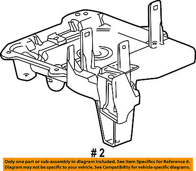 Chevy Truck Battery Tray
