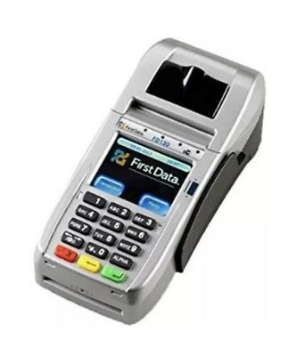 First Data FD130 EMV Credit Card Terminal with Smart Card Reader