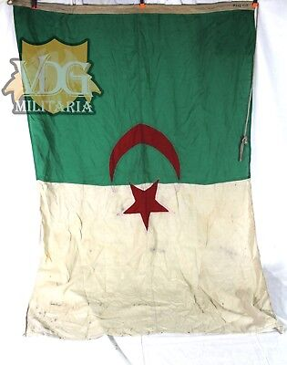 "WW2 Era/Antique Algeria Maritime/Naval Flag-36""x52"" Inches"