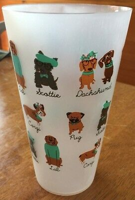 Set of 6 30oz Outdoor/Party Cups - Dachshund Scottie Lab Corgi Pug