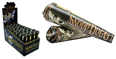 Executive Branch 1 1/4 Size - 3 PACKS - Pre Rolled 6 Cones Per Pack Snoop Dog