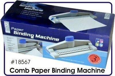 Home Office Paper Binding Machine Up to 100 pages - 14 binders - Hole Punch