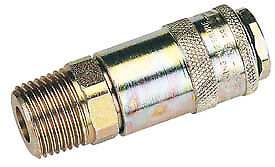 Draper 37838 Packed 1/2 Male Thread PCL Tapered Airflow Coupling