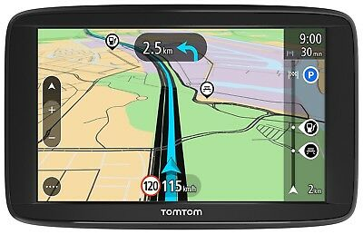 TomTom Start 62 Navigationsgerät (15 cm (6 Zoll) Display, Lifetime Maps, Fahrsp