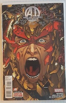 Age Of Ultron Book Ten (10 Ai) Htf Bagged And Boarded Nm/m Low Price Combine Shi