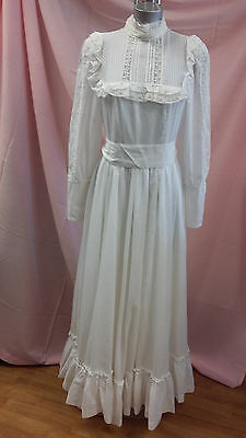 LAURA ASHLEY VINTAGE Wedding Dress with Hoop and Petticoat - £46.99 ...