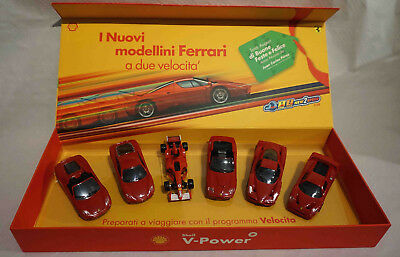 FERRARI SHELL V-POWER 2 speed scala 1:38