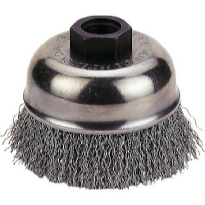 "Firepower 1423-3158 Cup Brush 4"" Crimped Wire, 5/8""-11 Nc"