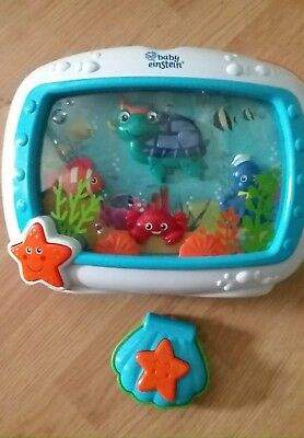 Sound Machine Baby Einstein Sea Dreams Soother Used w/ Remote Control Works Loud