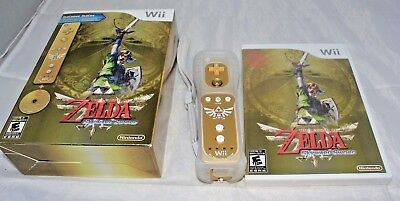 The Legend of Zelda: Skyward Sword (Nintendo Wii, 2011) Limited Edition NEW