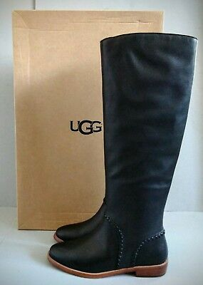 3a3fee15e4c UGG AUSTRALIA GRACEN Whipstitch Mid Brown 1019086 Boots Leather ...
