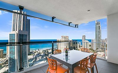 GOLD COAST ACCOMMODATION Circle Apartments 2 Bed + Study Ocean 7nts $1350 6pp