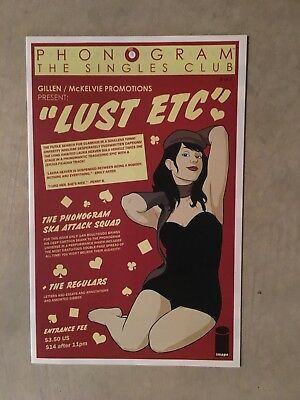 Phonogram: The Singles Club #5 Recalled Variant Wrong Barcode Extremely Rare