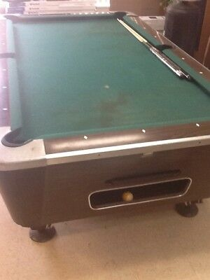 Valley Coin Op Pool Table Bar Size