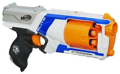 Nerf Official N-Strike Elite Strongarm Blaster Kids Toy Foam Soft Dart Gun