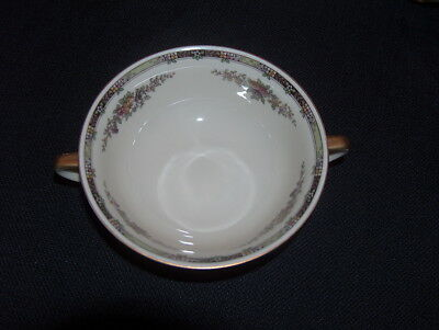 "Heinrich Selb Bavaria HC30 H&C Footed 2 Handle 5"" Cream Soup Bowls - 5 Available"