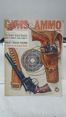 Vtg Guns And Ammo Magazine Back Issues 1 X 1962 / 3 X 1968 / 12 X1982 / 1 X 1989