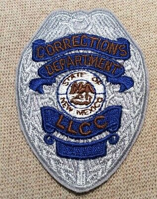 NM New Mexico Department of Corrections LLCC Patch