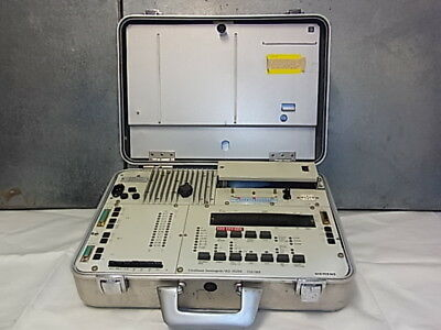 Siemens DCE Tester/Analyzer ESG 1000 Post koffer 1986