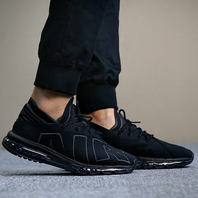 Men's Nike Air Max Flair Black/Anthracite Trainers UK 7.5, 8, 9, 11
