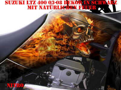 Invision Dekor Graphic Kit Atv Suzuki Ltr 450 Ltz400 Ltz250  Nitro Decals B