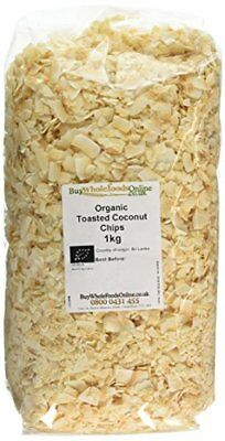 Buy Whole Foods Organic Coconut Chips Toasted 1 Kg