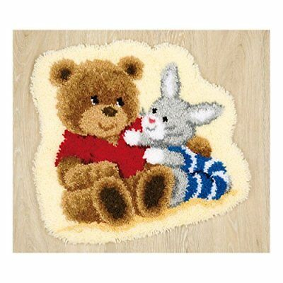 Latch Hook - Vervaco - Teddy and Bunny Rug