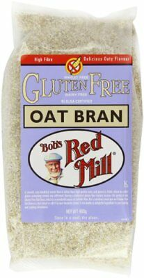 Bobs Red Mill Pure Oat Bran Gluten Free 400 g Pack of 4