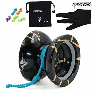Authentic Magicyoyo N11 Unresponsive Yoyo with 5 Strings and Glove and Bag, Allo