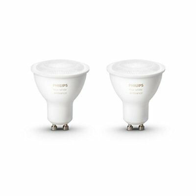 Philips Hue White Ambience Personal Wireless Lighting 2 x 5.5 W GU10 LED Twin Pa