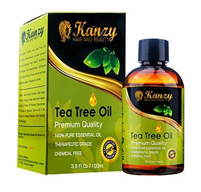 KANZY Tea Tree Essential Oil 100 Pure use with shampoo and soap - for face  Bo
