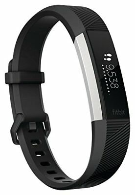 Fitbit Alta HR Fitness Wristband - Black, Small 5.5-6.7 in