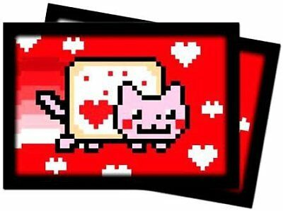 Ultra Pro SLEEVES Valentine Nyan Cat C100 Card Game Small, Pack of 60